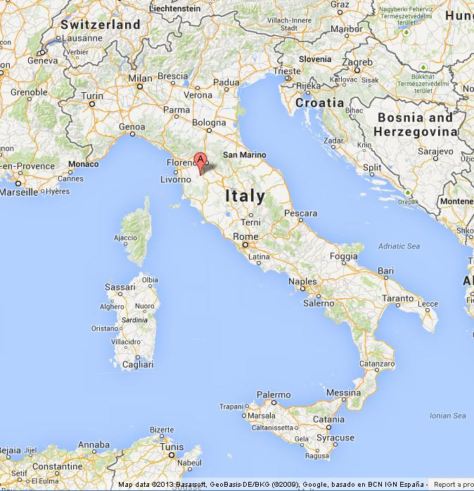 San gimignano on map of italy world easy guides location san gimignano on map of italy gumiabroncs Image collections