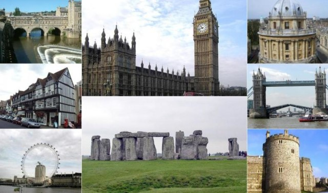 England landmarks, England best of