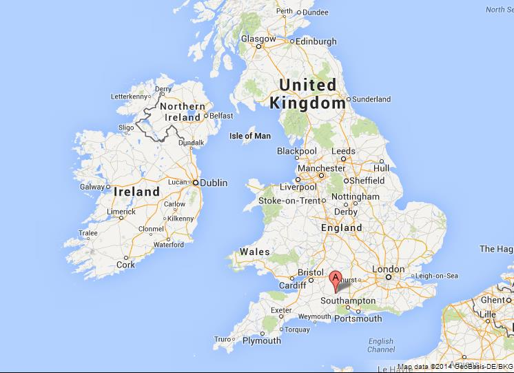 stonehenge on map of uk
