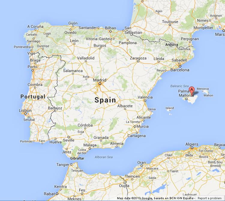 Mallorca On Map Of Spain World Easy Guides - Where is spain located