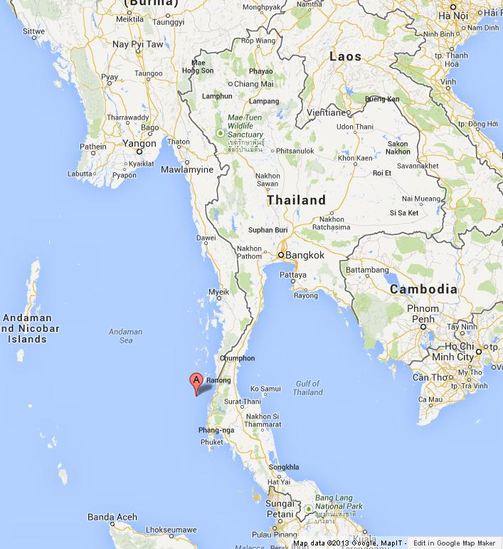Surin islands on map of thailand gumiabroncs Images