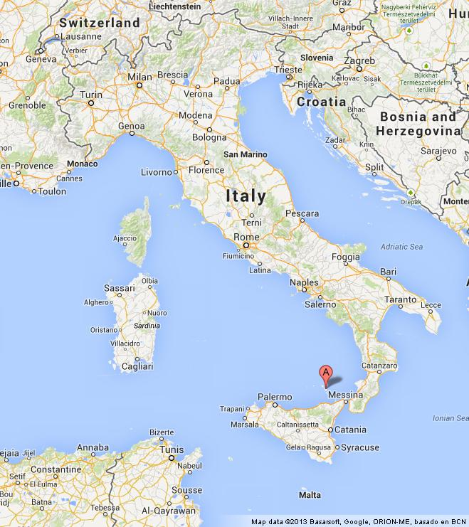 where are Aeolian Islands on Map of Italy World Easy Guides