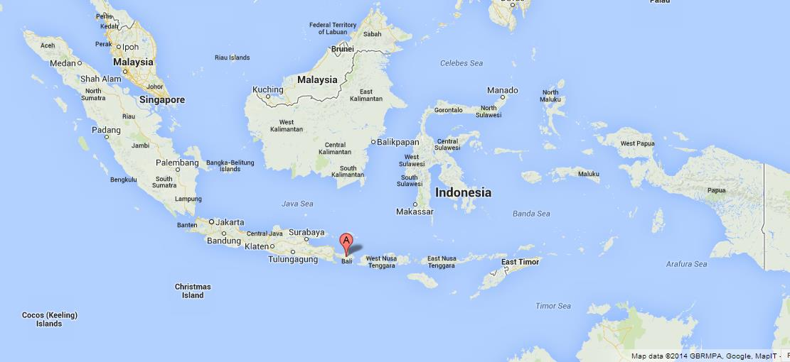Bali island of gods world easy guides where is bali on map of indonesia gumiabroncs Images