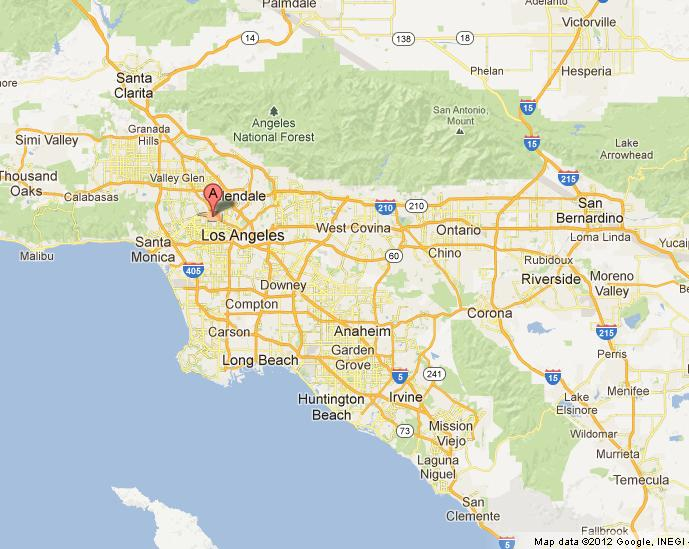 printable map of los angeles county detailed california