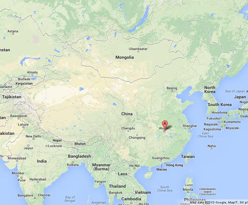 Wuhan on map of china gumiabroncs Image collections