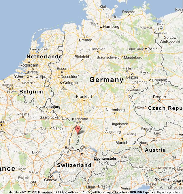 Freising Germany Map.Black Forest On Map Of Germany