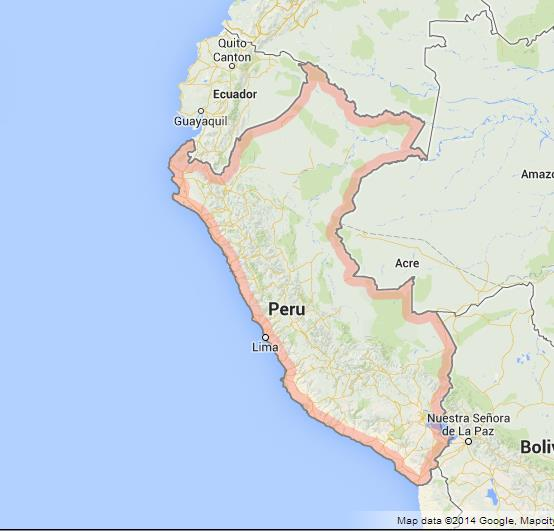 Peru Wonderful Country World Easy Guides - Cities map of peru