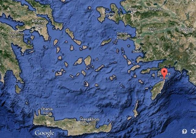 Where is Rhodes on Greece map World Easy Guides