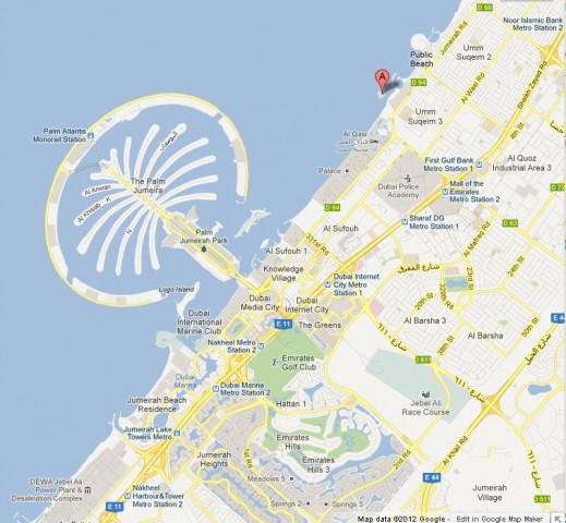 Dubai has unbelievable buildings world easy guides for Map of dubai hotels