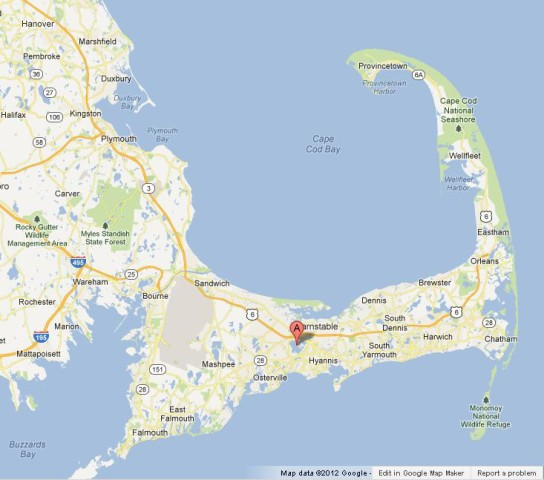 Cape Cod Is A Beautiful Region World Easy Guides - Cape-cod-on-us-map