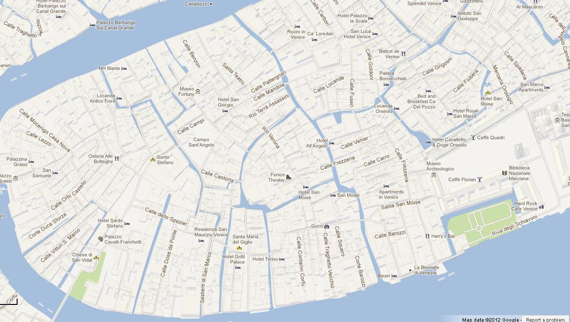 Map Of San Marco Venice World Easy Guides - Venice san marco map