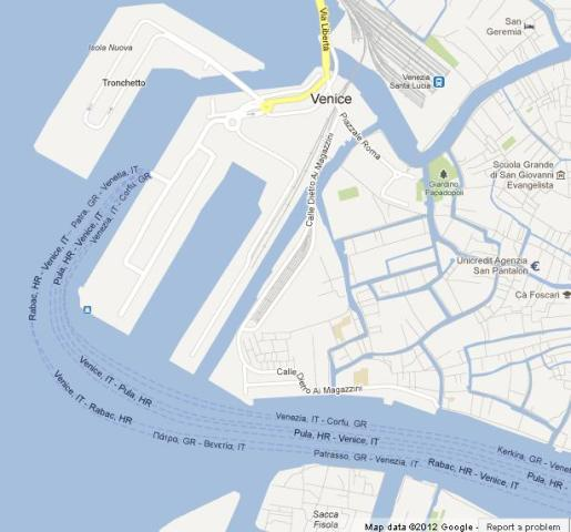Maps Of Venice World Easy Guides