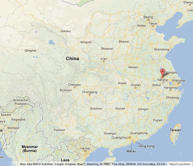 Nanjing On Map Of China World Easy Guides - Nanjing map