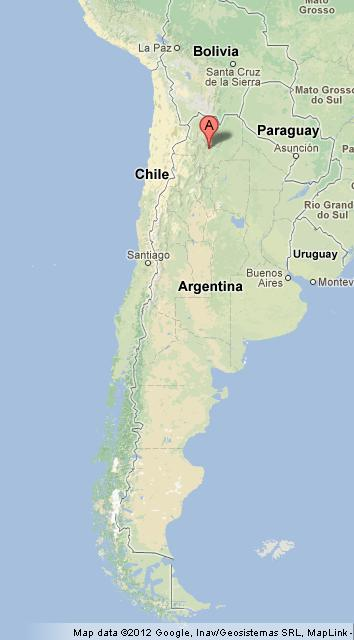 Salta On Argentina Map World Easy Guides - Argentina map salta
