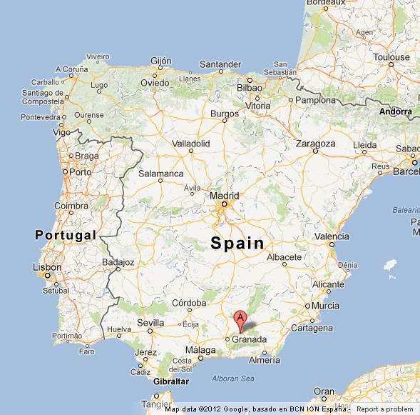Sierra Nevada On Map Of Spain World Easy Guides - Where is nevada