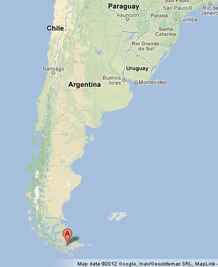 Ushuaia On Map Of Argentina World Easy Guides - Argentina map ushuaia