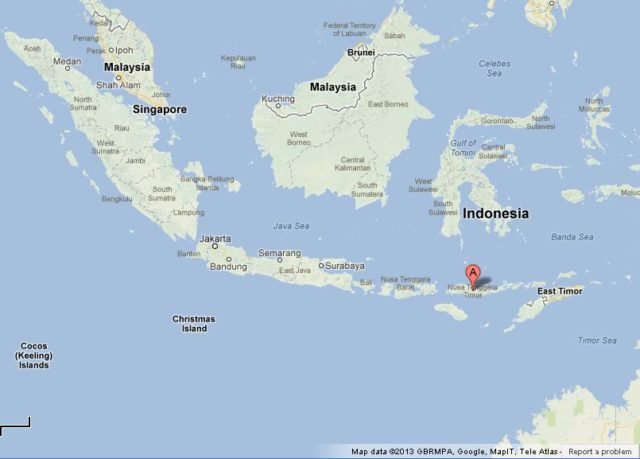 Where is Flores on Map of Indonesia