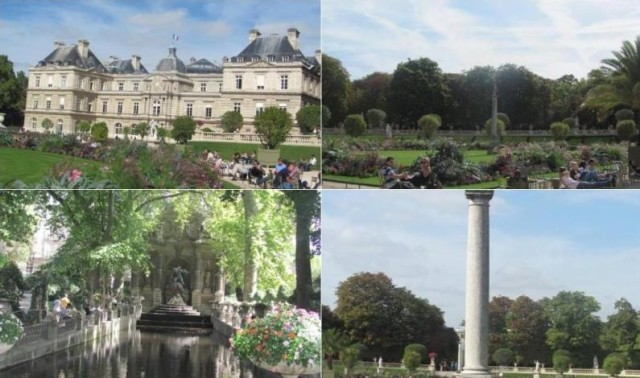 Jardin du luxembourg beautiful park in paris world easy for Cafe jardin du luxembourg