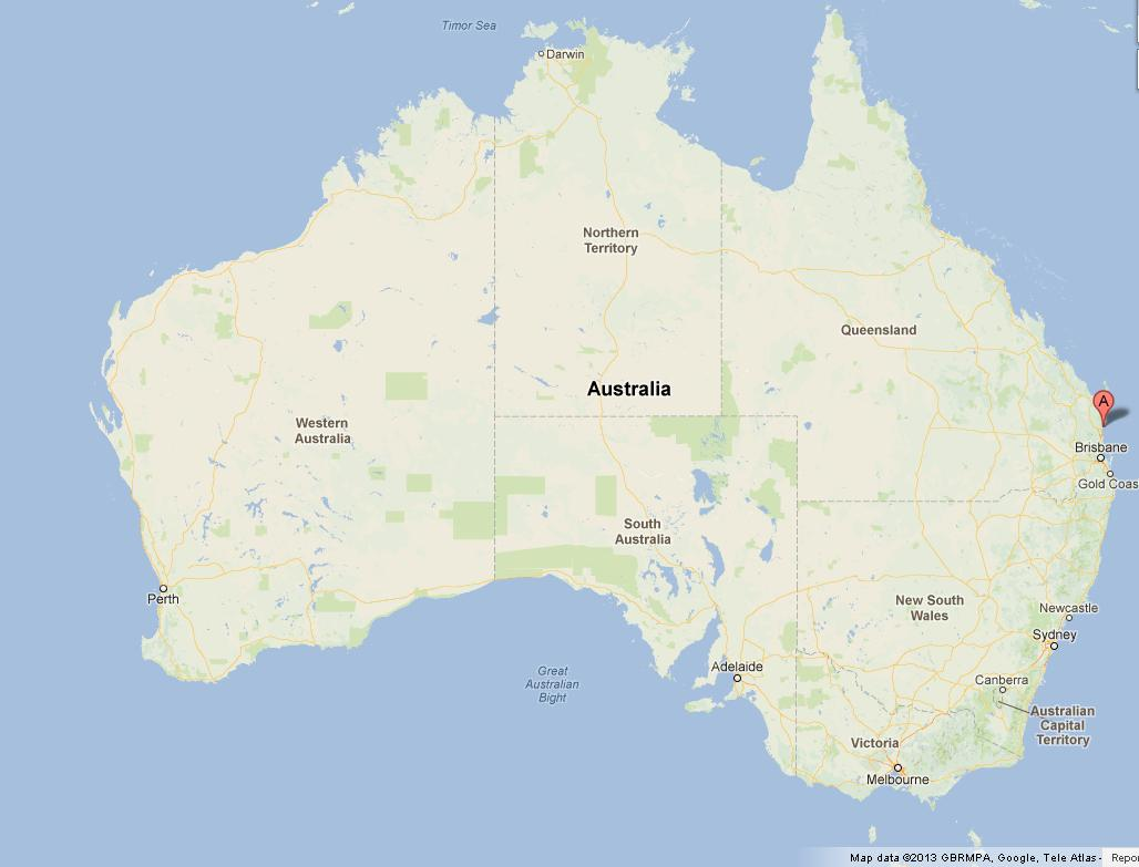 Noosa Australia  City new picture : Noosa on Map of Australia | World Easy Guides