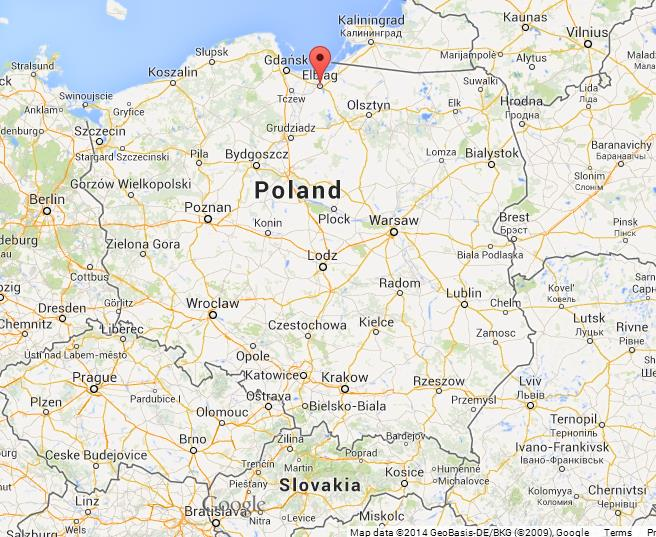 Great Masurian Lakes on Map of Poland World Easy Guides
