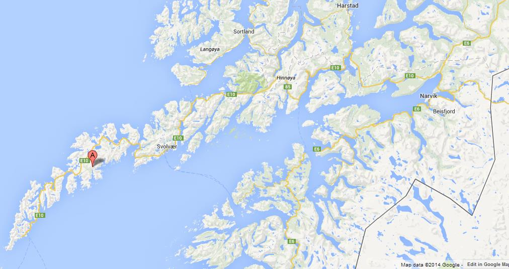 Map of lofoten islands gumiabroncs Image collections