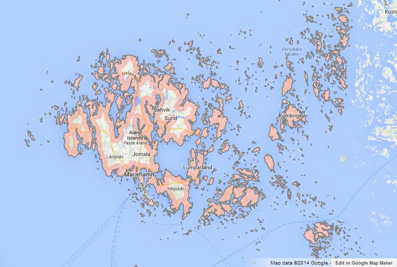 Map Of Aland Islands World Easy Guides - Aland islands political map