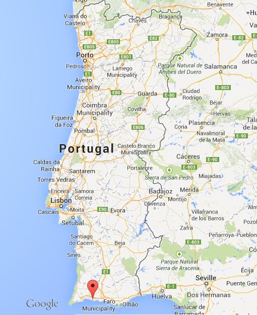 Carvoeiro On Map Of Portugal World Easy Guides - Portugal map carvoeiro