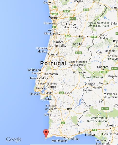 Sagres On Map Of Portugal World Easy Guides - Portugal map