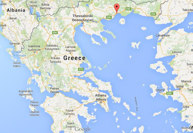 Where is Kavala on map Greece World Easy Guides