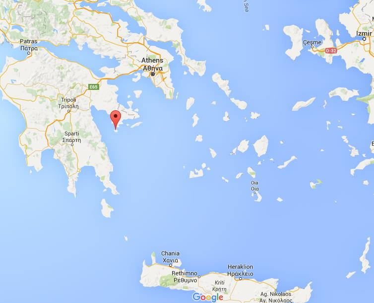 Where is Spetses on map Greece World Easy Guides