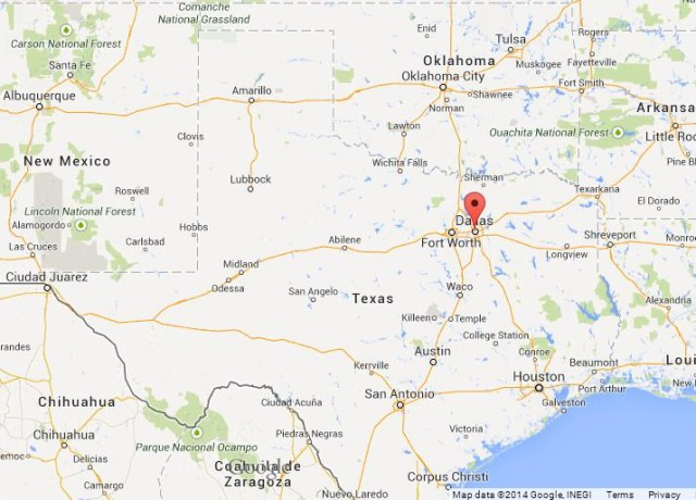Dallas On A Map Of Texas.Dallas Beautiful Texas World Easy Guides