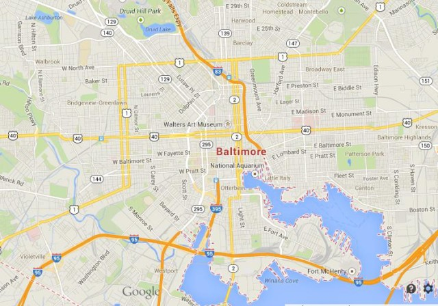 Baltimore in Maryland World Easy Guides