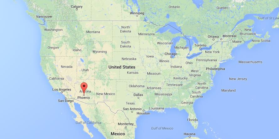 Where Is Phoenix In Usa Map