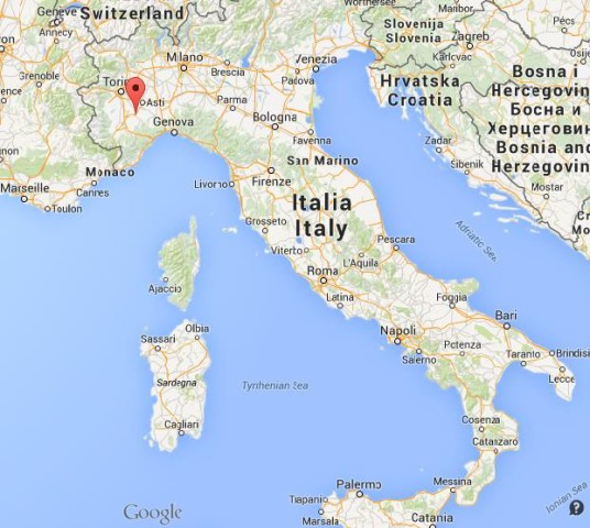 Alba Italy Map Alba | World Easy Guides