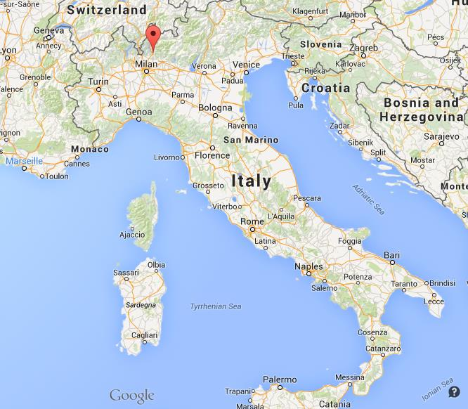 Where is Lecco on map Italy World Easy Guides