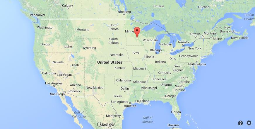 Wwwworldeasyguidescomwpcontentuploads - Minneapolis on us map