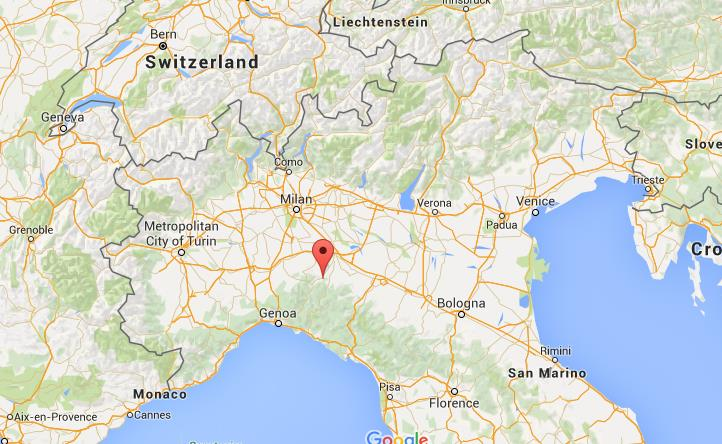 Where Is Piacenza On Map North Italy