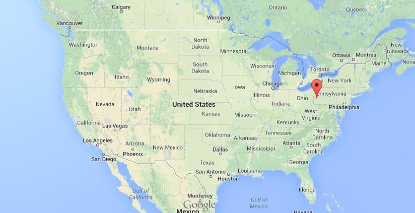Where Is Pittsburgh On Map Of USA World Easy Guides - Usa map with states pittsburgh