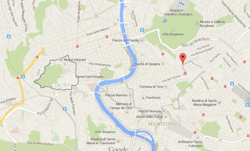 Where Is Via Veneto On Map Of Rome World Easy Guides - Where is rome