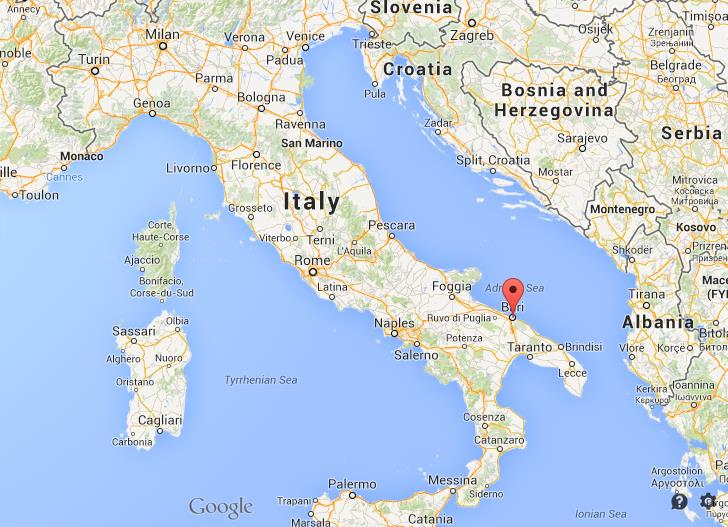 Where is bari map of italy gumiabroncs Choice Image