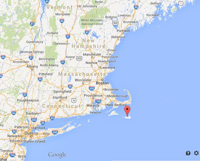 Nantucket Island On US Northeast Coast Map World Easy Guides - Northern east coast us map