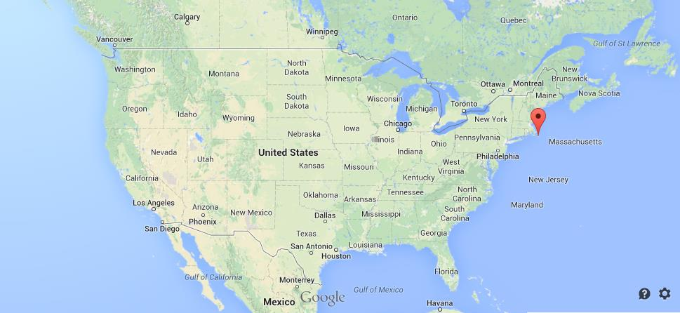 Nantucket Island On USA Map World Easy Guides - Los angeles on a us map