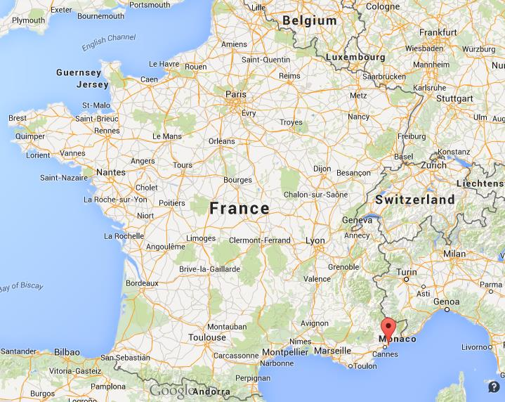 Where is Antibes on map France