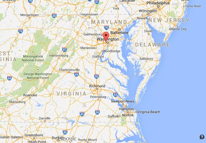 Where Is Arlington On Map Of Virginia