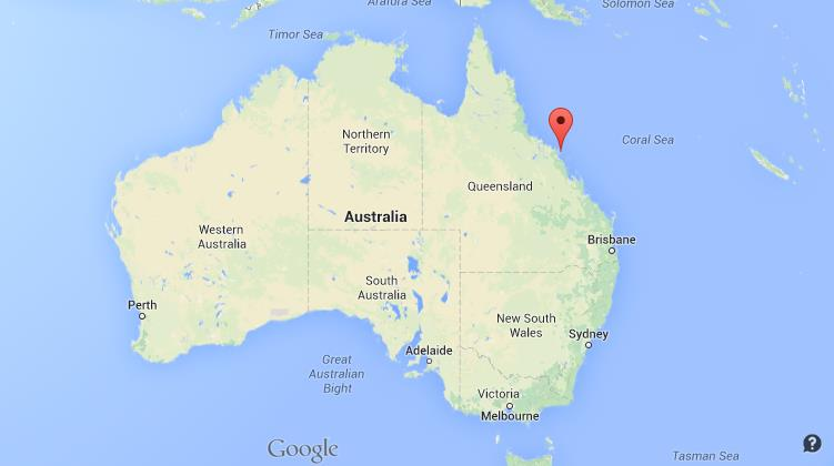 Where is Hamilton Island on map of Australia World Easy Guides