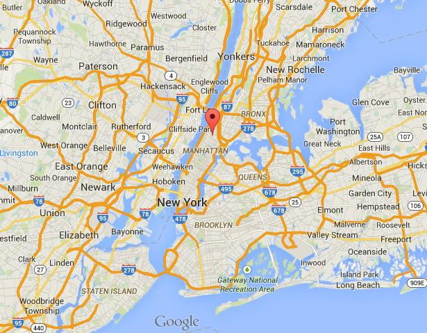 Map Of New York Harlem.Where Is Harlem On Map Of New York City