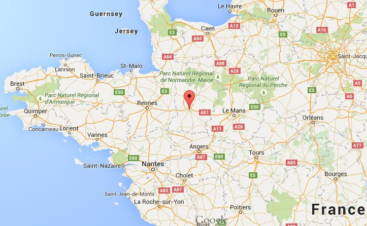 Map Of North West France.Where Is Laval On Map Northwest France
