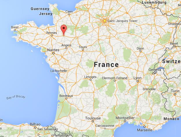 Map Of Northwest France.Where Is Laval On Map Northwest France Citiestips Com