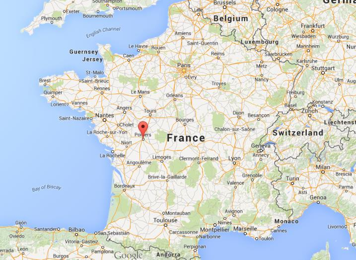 Where Is Poitiers On Map Of France World Easy Guides - Where is france on the map