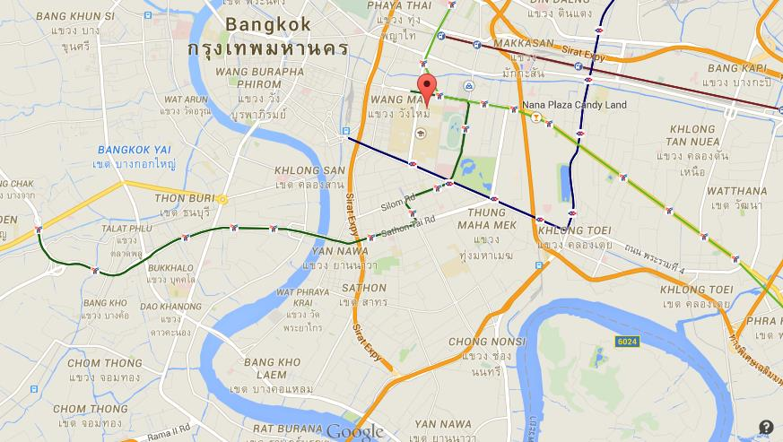 Where Is Siam Square On Map Bangkok World Easy Guides - Where is bangkok
